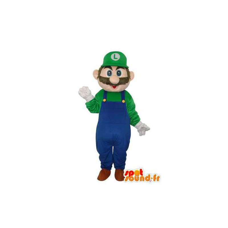 Mascotte du personnage Luigi - Déguisement personnage jeu - MASFR003668 - Mascottes Mario