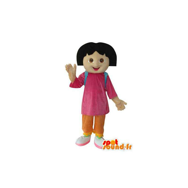 Girl stuffed mascot - Costume character - MASFR003674 - Mascots boys and girls