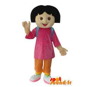 Mascotte de fillette en peluche - Costume de personnage - MASFR003674 - Mascottes Garçons et Filles