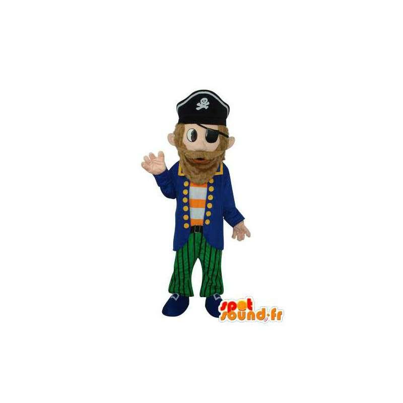 Overzeese piraat mascotte pluche - MASFR003678 - mascottes Pirates