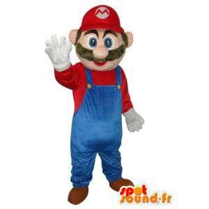 Maskot av den berömda super Mario karaktären - Character kostym