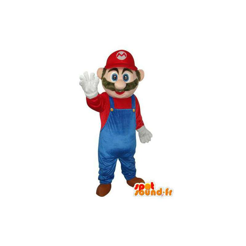 Mascot of the famous character Super Mario - Costume character - MASFR003679 - Mascots Mario
