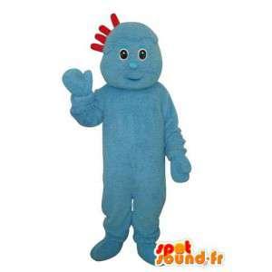 Sininen merkki Mascot Pehmo - Puku merkki - MASFR003680 - Mascottes non-classées