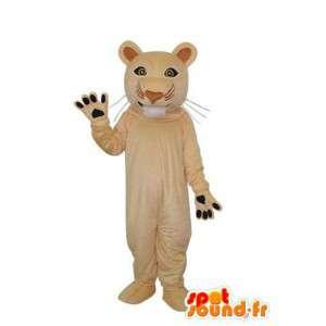 Mascotte duidelijk camelle panter - panter kostuum - MASFR003695 - Tiger Mascottes