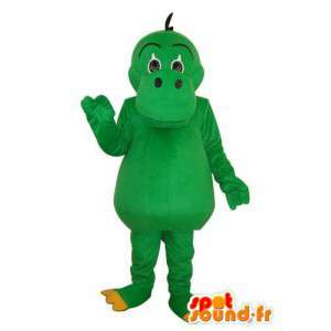 Mascota del hipopótamo verde Unido - Hippo vestuario
