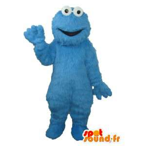 Character mascot plush solid blue - costume character - MASFR003709 - Mascots unclassified