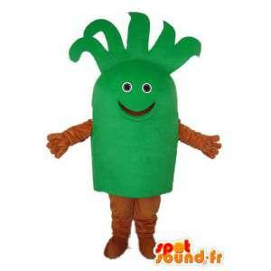緑茶色の低木マスコット-低木変装-MASFR003719-植物マスコット