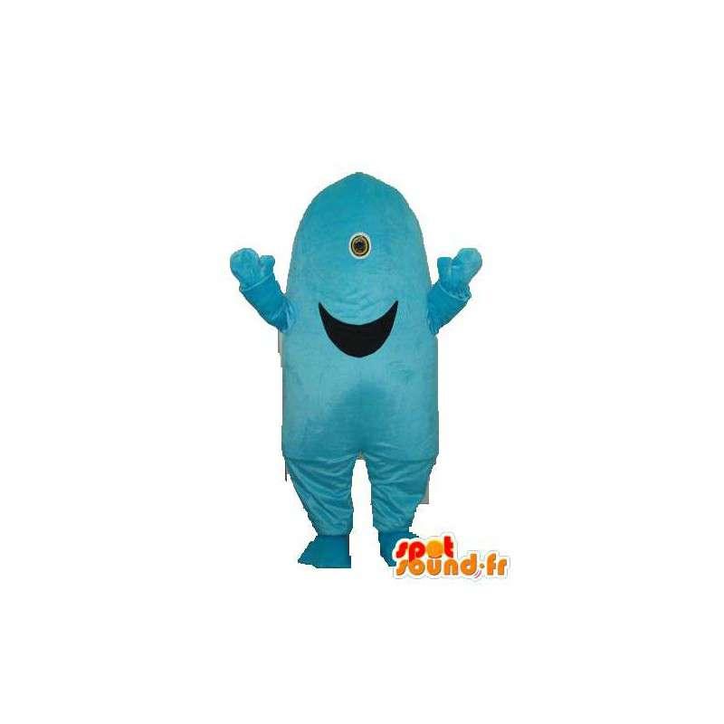 Mascot vorm heuvel grijns - butte vermomming - MASFR003727 - Niet-ingedeelde Mascottes