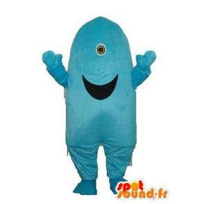 Mascotte sous forme de butte large sourire – déguisement butte - MASFR003727 - Mascottes non-classées