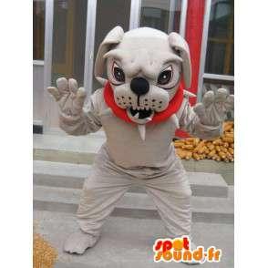 犬のマスコットboulldog - 付属品コスチュームボール犬 - MASFR00246 - 犬マスコット