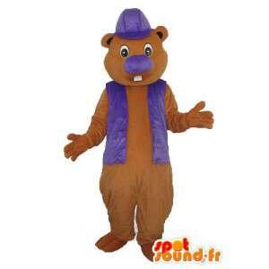 Mascot beaver - beaver costume character - MASFR003732 - Beaver mascots