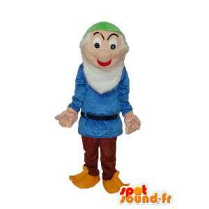 Mascot vecchio maglione blu - Disguise Old Man  - MASFR003753 - Umani mascotte