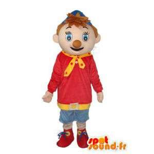Marcotte Pinocchio - Pinocchio Kostüme Menschen - MASFR003763 - Maskottchen Pinocchio