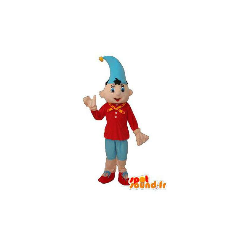 Pinocchio with pointed hat mascot - Pinocchio Costume - MASFR003765 - Mascots Pinocchio