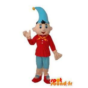 Μασκότ Πινόκιο με μυτερό καπέλο - μεταμφίεση Πινόκιο - MASFR003765 - μασκότ Πινόκιο