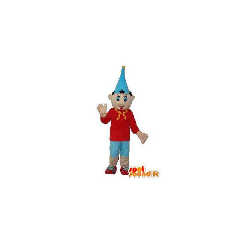 Pinocchio con la mascotte cappello a punta - Costume Pinocchio - MASFR003766 - Mascotte Pinocchio