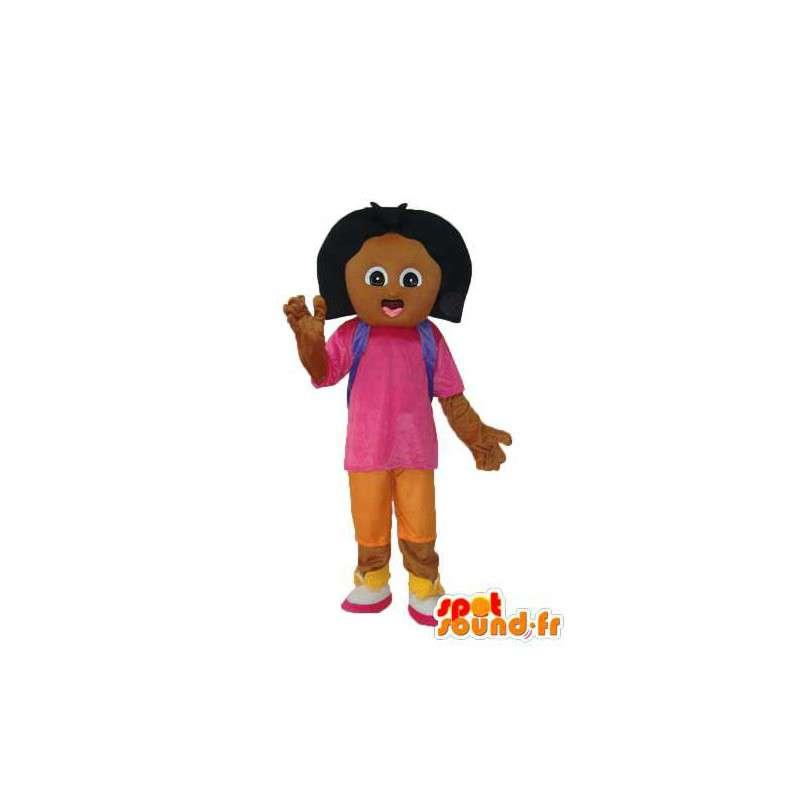Trajes de dibujos - Mascot chica morena - MASFR003770 - Chicas y chicos de mascotas