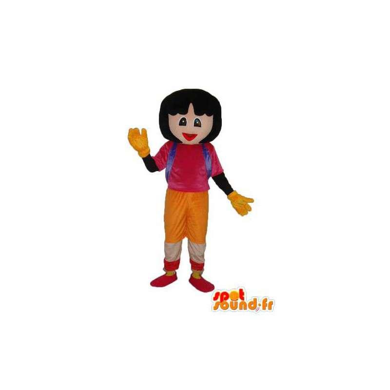 Mascotte de fille écolière – Déguisement d'écolière - MASFR003771 - Mascottes Garçons et Filles