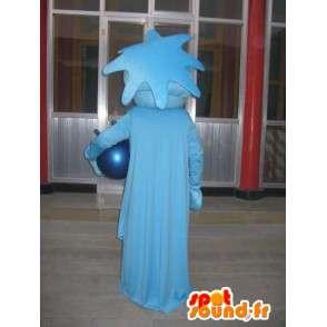Maskottchen der Freiheitsstatue blau - Kostüm-Abend in New York - MASFR00293 - Maskottchen von Objekten