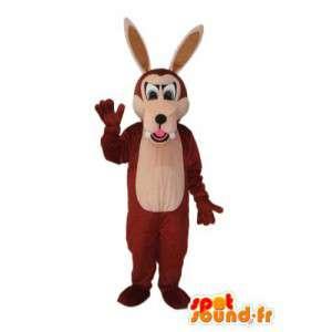 Mascotte de chien en peluche marron – déguisement de chien - MASFR003779 - Mascottes de chien