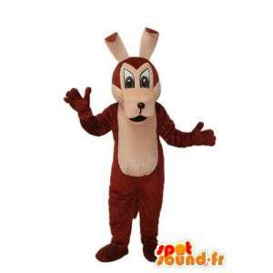 Mascot braunen Stoffhund - Hundekostüm braun - MASFR003782 - Hund-Maskottchen