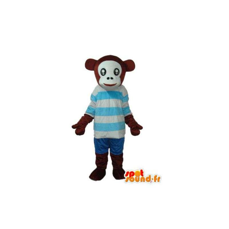 Déguisement de chimpanzé – Mascotte de chimpanzé en peluche - MASFR003799 - Mascottes Singe