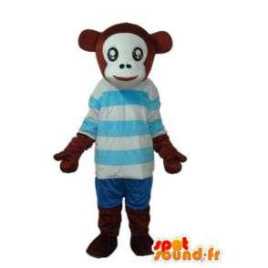 Disguise chimpanzee - Chimpanzee plush mascot - MASFR003799 - Mascots monkey