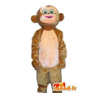 Stuffed monkey mascot - Monkey Suit - MASFR003803 - Mascots monkey