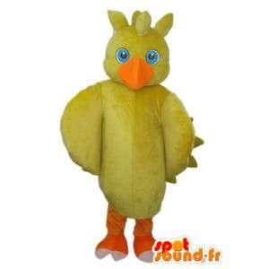 黄色いひよこのコスチュームとオレンジ色の脚-MASFR003805-チキンマスコット-オンドリ-チキン