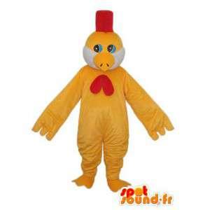 ひよこのマスコットのぬいぐるみ-ひよこのコスチューム-MASFR003807-鶏のマスコット-オンドリ-鶏