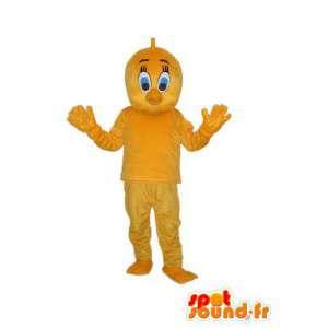 Żółty piskląt kostium - żółty piskląt Przebrań - MASFR003808 - Mascot Kury - Koguty - Kurczaki