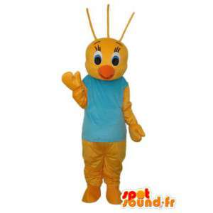 Żółty Laska Mascot - Żółty Laska Costume - MASFR003810 - Mascot Kury - Koguty - Kurczaki