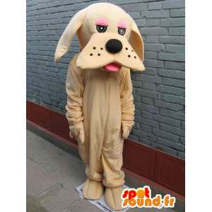 Mascot dog classic beige - Disguise - fast shipping