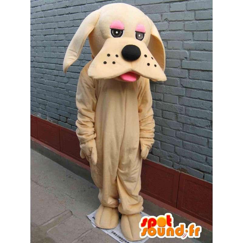 Mascot cane classico beige - Disguise - trasporto veloce - MASFR00296 - Mascotte cane