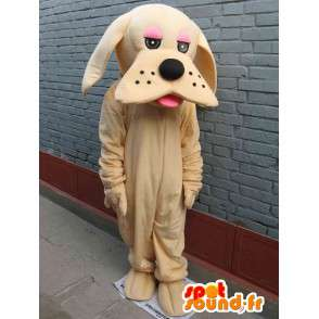 Klassische beige Hund Maskottchen - Disguise - Express-Versand - MASFR00296 - Hund-Maskottchen