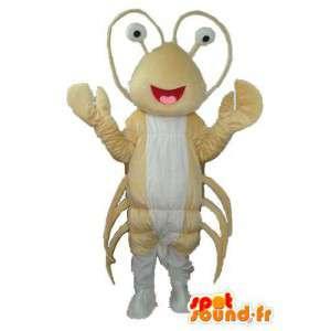 Beige maur maskot - fylt maur drakt