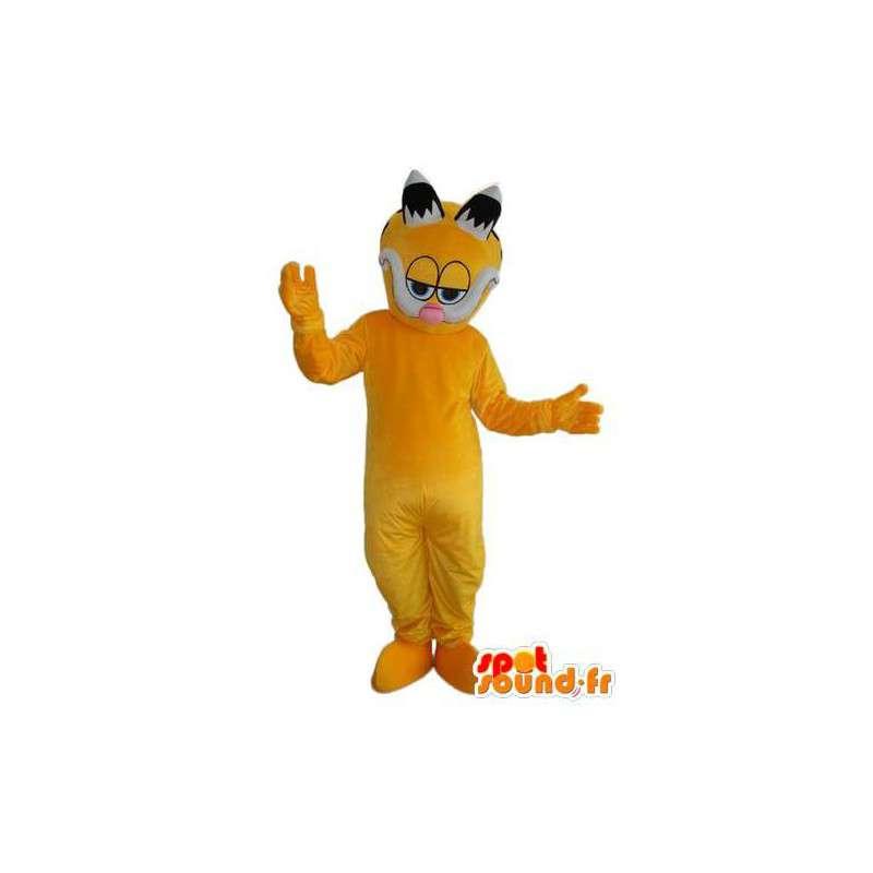 Mascot yellow cat eyes frames - Disguise - MASFR003826 - Cat mascots