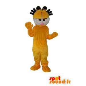 Keltainen kissa perässä - keltainen kissa puku