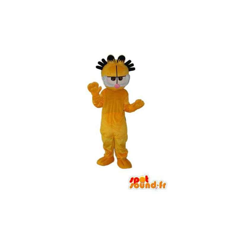 Costume de chat jaune - Déguisement de chat jaune - MASFR003827 - Mascottes de chat