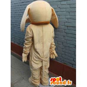 Mascot dog classic beige - Disguise - fast shipping - MASFR00296 - Dog mascots