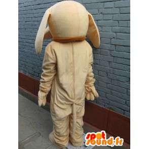 Mascotte chien beige classique - Déguisement - Envoi express - MASFR00296 - Mascottes de chien