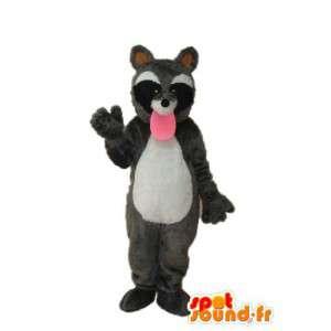 Mascotte de raton-laveur - Déguisement multiples tailles