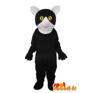 Svart mus kostyme - svart mus kostyme