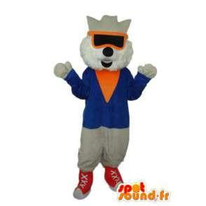 Costume de chat cool - Déguisement de chat cool - MASFR003832 - Mascottes de chat