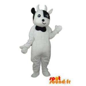 Kostüm weißes Kalb - Verkleidung weiß Kalbs