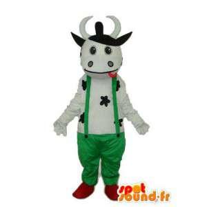 Grüner Frosch-Kostüm - Kostüme Bauer Kalb - MASFR003842 - Maskottchen-Frosch