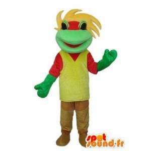 Maskotti liitetty sammakko - Wear - MASFR003845 - sammakko Mascot