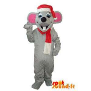 Costume de souris papa Noël — Déguisement de souris papa Noël