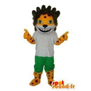 Lion mascot, world cup 2010 - Customizable - MASFR003852 - Lion mascots
