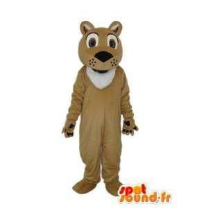 Kostüme die eine braune Panther - MASFR003853 - Tiger Maskottchen